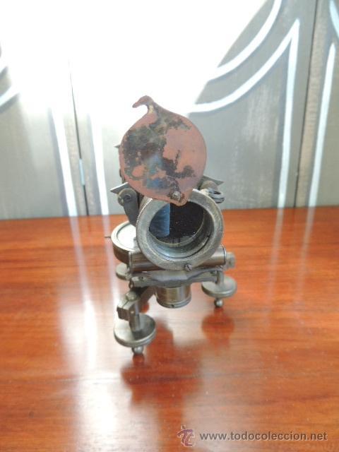Antigüedades: ANTIGUO TEODOLITO DEL SIGLO XIX de TOPOGRAFIA - Foto 10 - 38887605
