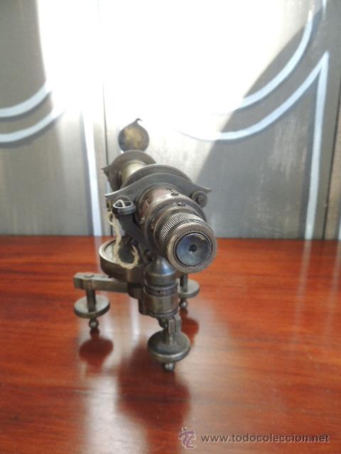 Antigüedades: ANTIGUO TEODOLITO DEL SIGLO XIX de TOPOGRAFIA - Foto 11 - 38887605