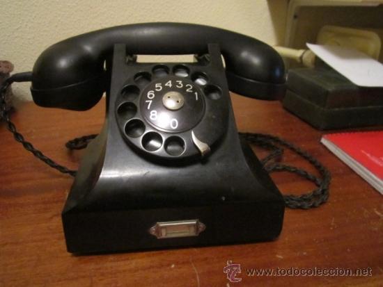Telefono de oficina negro baquelita ericson comprar for La oficina telefono