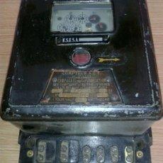 Antigüedades: ANTIGUO CONTADOR DE LA LUZ AÑOS 60. Lote 38921435