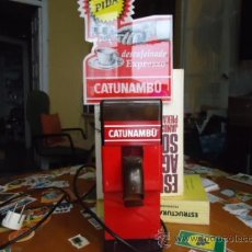 Antigüedades: PRECIOSO MOLINILLO ELECTRICO CON PUBLICIDAD DE CATUNAMBU, Y DESCRIPCION. ORIGINAL . Lote 38927899