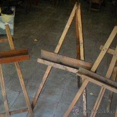 Antigüedades: TRES CABALLETES DE PINTOR.. Lote 38950171