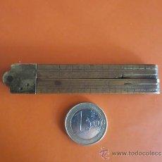Antigüedades: PEQUEÑO METRO INGLES DE 1 PIE. Lote 38951339