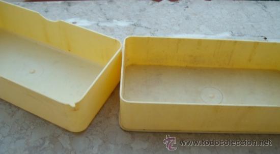 Antigüedades: caja para acessorios maquina de coser sigma (vacia, 16,5 x 8 x 4cm aprox) - Foto 2 - 38993655