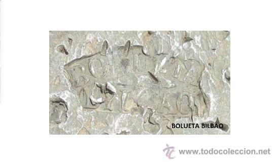 Antigüedades: pesa de 10 kilos con marca de fabrica BOLUETA -BILBAO - Foto 6 - 38998659