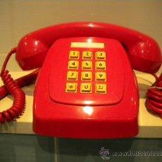 Teléfonos: TELÉFONO HERALDO LOS PRIMEROS EN BOTONERA ROJO. Lote 39046829