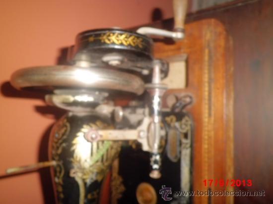 Antigüedades: MAQUINA DE COSER ANTIGUA DE LA MARCA CINDERELLA CON Nº DE SERIE 779531 - Foto 5 - 39090072
