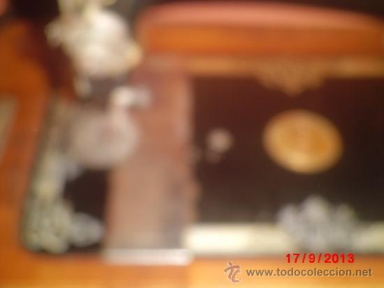 Antigüedades: MAQUINA DE COSER ANTIGUA DE LA MARCA CINDERELLA CON Nº DE SERIE 779531 - Foto 11 - 39090072