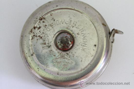 Antigüedades: ANTIGUO METRO MOLLIMEX CON BOTON AUTOMATICO DE RECOGIDA - Foto 4 - 39147419