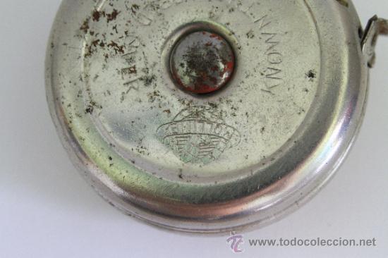 Antigüedades: ANTIGUO METRO MOLLIMEX CON BOTON AUTOMATICO DE RECOGIDA - Foto 6 - 39147419