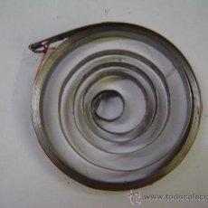 Antigüedades: MUELLE REAL PARA TIRADERA DE CARRO DE OLIVETTI LEXICON/M40. Lote 39194969
