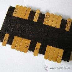 Antigüedades: CONTADOR - CALCULADORA - ABACO. Lote 39218247