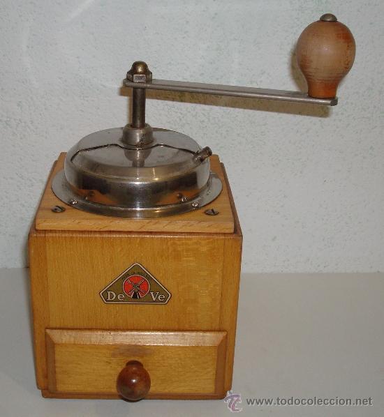 ANTIGUO MOLINILLO DE CAFÉ DEVE MADE IN HOLLAND (Antigüedades - Técnicas - Molinillos de Café Antiguos)