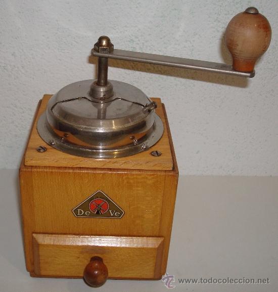 Antigüedades: ANTIGUO MOLINILLO DE CAFÉ DEVE MADE IN HOLLAND - Foto 2 - 39220403