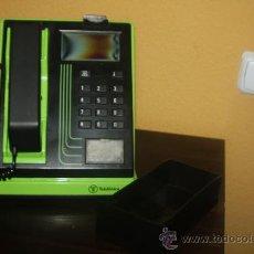 Teléfonos: CABINA TELEFONO COLOR VERDE. Lote 39222950