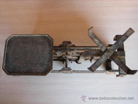 Antigüedades: Balanza alemana antigua, de 5 Klg. - Foto 2 - 39272584