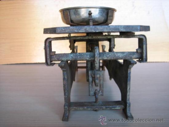 Antigüedades: Balanza alemana antigua, de 5 Klg. - Foto 3 - 39272584