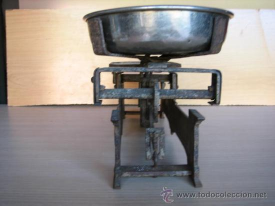 Antigüedades: Balanza alemana antigua, de 5 Klg. - Foto 4 - 39272584