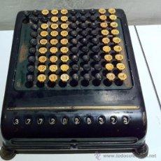 Antigüedades: MÁQUINA DE CALCULAR ANTIGUA BORROUGHS. Lote 39274532