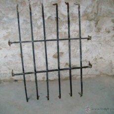 Antigüedades: REJA ANTIGUA DE FORJA.. Lote 39319087