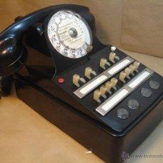 Teléfonos: ANTIGUO TELEFONO CENTRALITA - CIT FRANCIA 1954 - BAQUELITA ¡¡ ¡¡¡. Lote 39337193