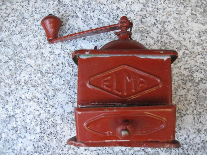 MOLINILLO ANTIGUO DE CAFE. MARCA ELMA. (Antigüedades - Técnicas - Molinillos de Café Antiguos)