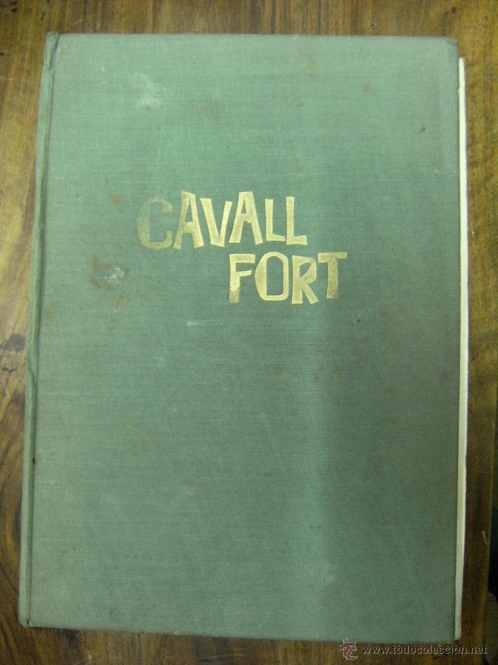 CAVALL FORT, ÁLBUM VII (Nº DEL 82 AL 86). AÑO 1967 (Antigüedades - Técnicas - Varios)