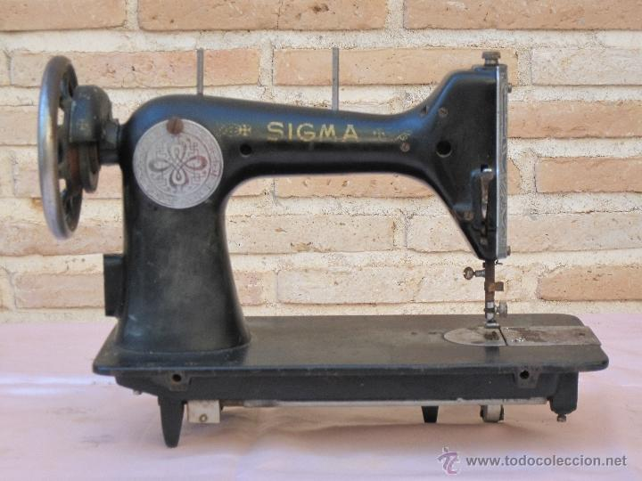 CABEZA ANTIGUA DE MAQUINA DE COSER MARCA SIGMA - ESTARTA Y ECENARRO - ELGOIBAR ( GUIPUZCOA ) (Antigüedades - Técnicas - Máquinas de Coser Antiguas - Sigma)
