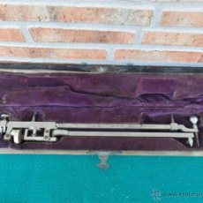 Antigüedades: MEDIDOR RARO CON SU CAJA. Lote 39414538