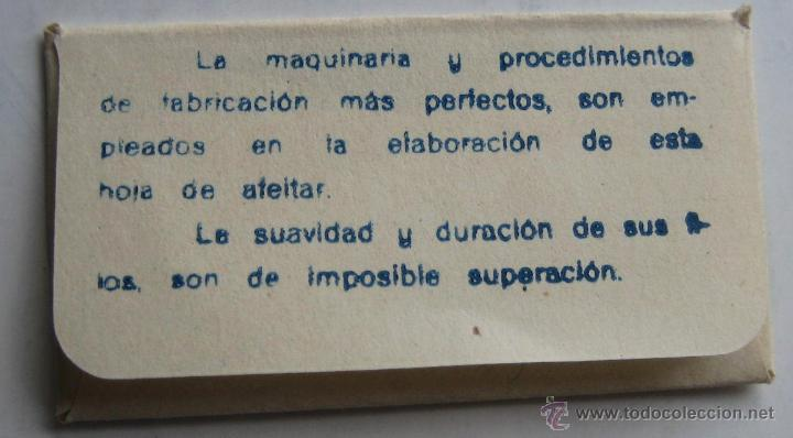 Antigüedades: HOJA DE AFEITAR TOLEDO - Foto 2 - 39435725