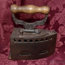 Antigüedades: MAGNIFICA PLANCHA DE CARBON SIN CHIMENEA DE LA MARCA ALBA. Lote 39438843