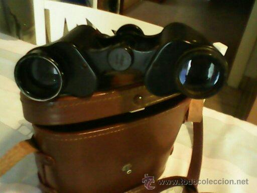 ANTIGUOS BINOCULOS MARCA LUPINUS...MOP,JAPAN.--8X30, 7,5 N.382363,,J-B34 (Antigüedades - Técnicas - Instrumentos Ópticos - Binoculares Antiguos)