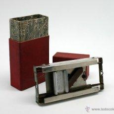 Antigüedades: ANTIGUO AFILADOR DE CUCHILLAS DE AFEITAR ALLEGRO, AÑOS 30.. Lote 39467716