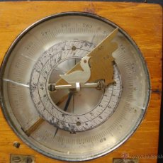 Antigüedades: BRÚJULA ANTIGUA CON RELOJ DE SOL, SIGLO XVIII-XIX. Lote 39470142