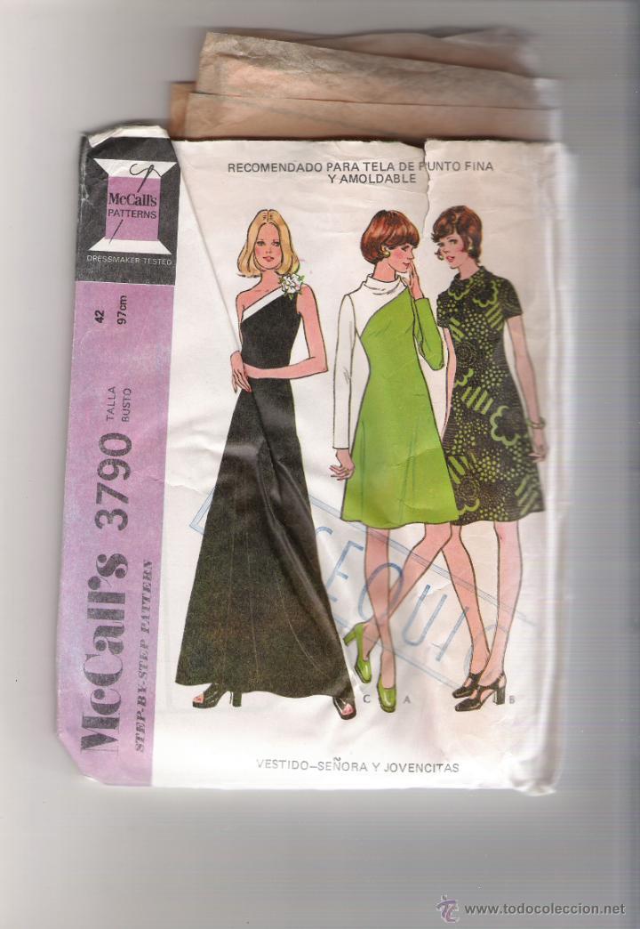 mc´calls 3790 - patrones para vestidos - Comprar Herramientas ...
