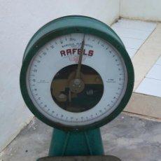 Antigüedades: BASCULA AUTOMATICA RAFELS , FUERZA 25 KG ,MOD BAP APROBADA O,M 21. 12. 48. Lote 39550809