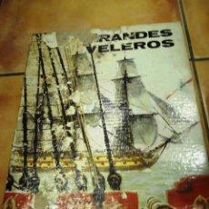 Antigüedades: LIBRO ANTIGUO GRANDES VELEROS. Lote 39597213