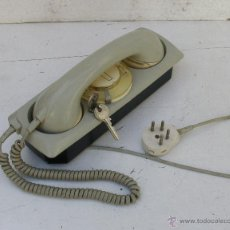 Teléfonos: TELEFONO DE PARED O SOBREMESA - CON LLAVE. Lote 39666845