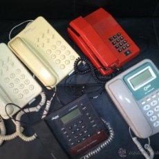 Teléfonos: LOTE DE 5 TELÉFONOS. Lote 39667813