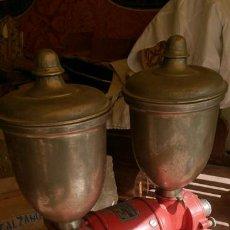 Antigüedades: GRAN MOLINO DE CAFÉ MARCA ORTEGA , ALTURA 75 CM, ANCHO 60 CM. Lote 39673912