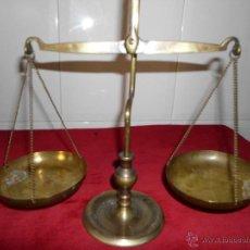 Antigüedades: PEQUEÑAS BALANZAS DE METAL. Lote 39686805