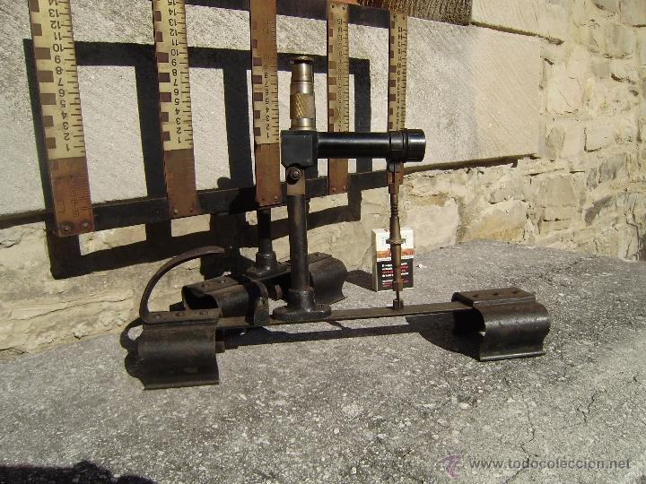 Antigüedades: ANTIGUO NIVEL FERROVIARIO - Foto 4 - 39742010