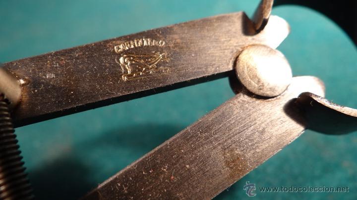 Antigüedades: ANTIGUO COMPAS DE PRECISION PARA GRUESOS - 150 mm. - MARCA CARPINTERO - SIN USAR - - Foto 4 - 48469697