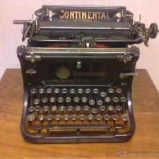 Antigüedades: CONTINENTAL 1925 ORBIS S.A. REPRESENTANTES EXCLUSIVOS PARA ESPAÑA PORTUGAL Y MARRUECOS.BARCELONA. Lote 39814407