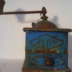 Antigüedades: MOLINILLO DE CAFE ELMA EN METAL , ANTIGUO,. Lote 39815358