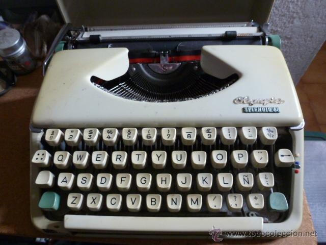 Antigüedades: Maquina de escribir Olympia Splendid 66 - Foto 2 - 39891407