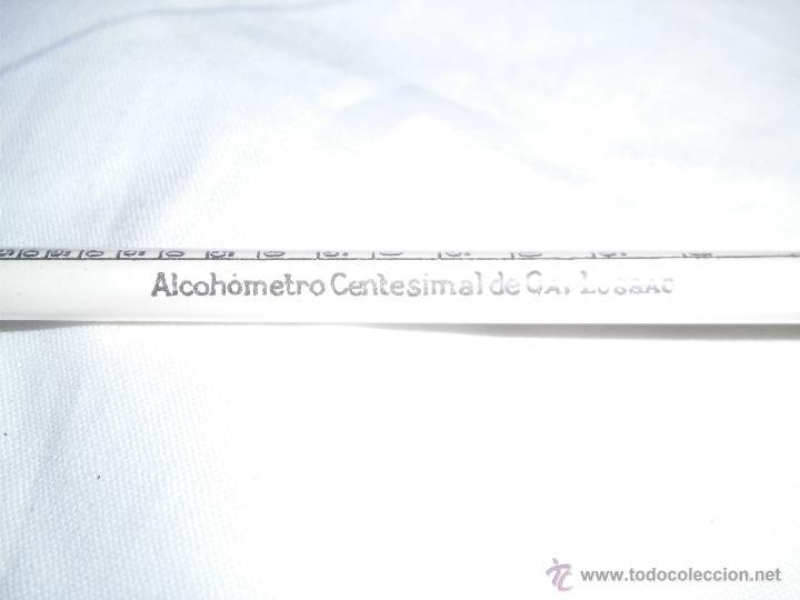 Antigüedades: ALCOHOMETRO CENTESIMAL DE GAY LUSSAC - Foto 3 - 143204968