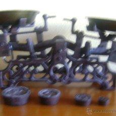 Antigüedades: BALANZA CON 4 PESAS. Lote 199896982
