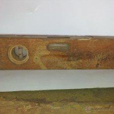 Antigüedades: NIVEL DE MADERA. Lote 39961034