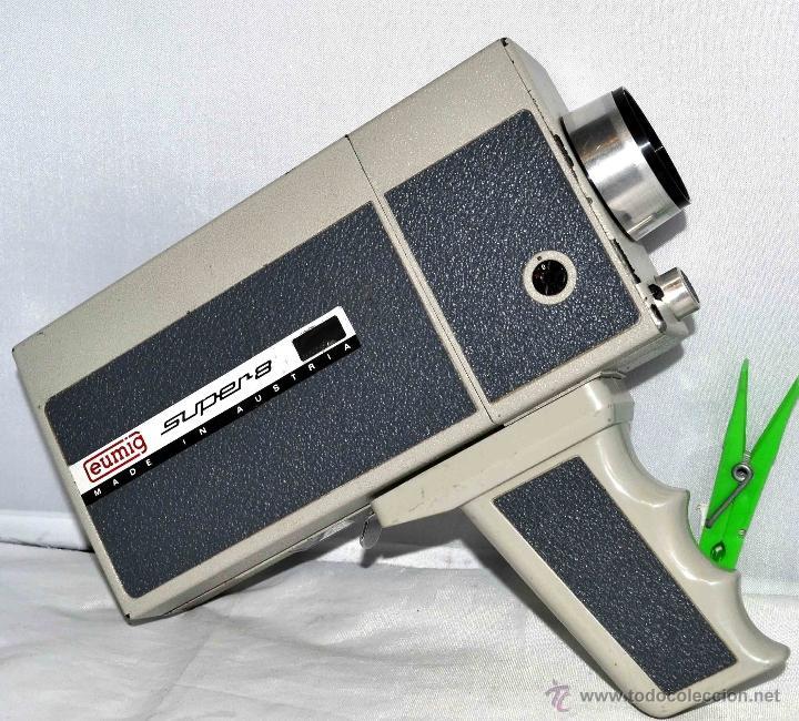 Antigüedades: GRAN CAMARA DE CINE SUPER 8 mm..AUSTRIA 1967..EUMIG EUMIGETTE.....FUNCIONA.. - Foto 2 - 39996298